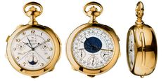 Most Expensive Watch ever made by Patek Philippe Expensive Watches, Most Expensive, Luxury Watch Brands, Luxury Watches For Men, Patek Philippe Pocket Watch, Iris Van Herpen, Gold Pocket Watch, High End Watches, Nice Watches