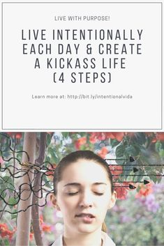 """Do you live intentionally every day? Or do you simply """"go with the flow""""? Do the demands and whims of others sway you here or there? Wake up each day and life the life you want – on YOUR terms. Use these actionable steps starting today to create a life beyond what you thought possible."""
