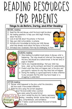 Reading Resources for At Home Learning