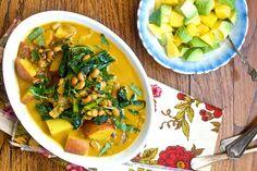 Judias de careta con curry / Platos principales / Guisos / HazteVeg.com