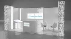 Modular stand exhibition for Bristol Myers Squibb on Behance