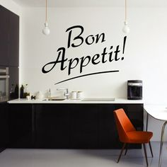 Bon Appetit Wall Art from Next Wall Stickers