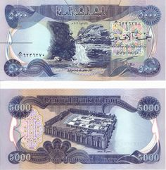 Our Rates For 5000s Iraqi Dinar Blue 1 Million Unc Iqd 910