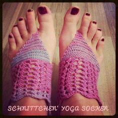 Freebook Schnittchen's Yoga Socken | Schnittverhext