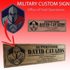 Military custom sign: Office of Field Operations Farm Signs, Pub Signs, Shop Signs, Home Bar Signs, Rabbit Farm, Military Signs, Home Pub, Medal Holders, Custom Wooden Signs