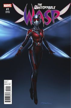 Preview: The Unstoppable Wasp #1, Story: Jeremy Whitley Art: Elsa Charretier Cover: Elsa Charretier Publisher: Marvel Publication Date: January 4th, 2017 Price: $3.99    ...,  #All-Comic #All-ComicPreviews #Comics #ElsaCharretier #JeremyWhitley #Marvel #previews #TheUnstoppableWasp