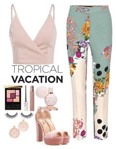 """""""Do it again"""" by meli3108 on Polyvore featuring Etro, Steve Madden, Yves Saint Laurent, Maybelline and Bronzallure"""