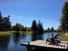 Soaking up what's left of the along the Minden bridge. Outdoor Furniture, Outdoor Decor, Warm Weather, Sun Lounger, Ontario, Road Trip, Bridge, Colour, Fall