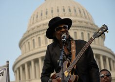 Chuck Brown at the DC Vote Rally in June 2011  Gallery: Bustin' Loose Around Washington: DCist