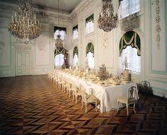 Peterhof Palace, The White Banqueting Hall