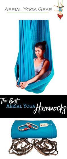 Aerial Yoga Hammock Set with Rigging Equipment