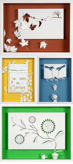 10 Easy Paper Cutting Crafts for Beginners 7
