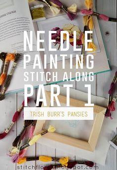 Needle Painting stitch along: Part 1