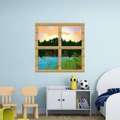 Blocky Window Frame Set 1 Shot 2 Vinyl Wall Decal