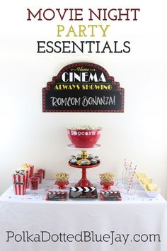 Movie Night Essentials for a relaxing weekend movie night. Complete with a Work Week Survival Bag to give your friends at the end of the night! #CentrumFunFlavors #ad