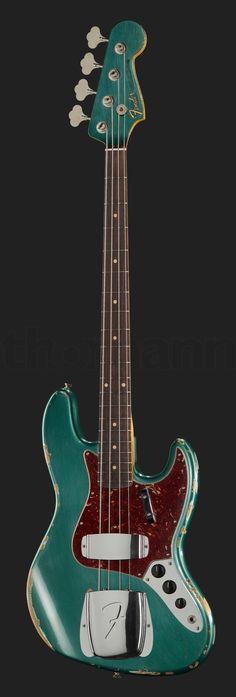 Fender 64 J-Bass Heavy Relic SGM