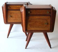 Mid-century nightstands