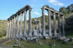 The temple of Zeus Lepsynus at Euromos, located in the ancient region of Caria, is one of the best preserved temples in Turkey. The temple was built in the Corinthian order in the 2nd century CE (probably during the reign of the emperor Hadrian) on the site of an earlier Carian temple. (Photo taken by Carole Raddato/Following Hadrian)