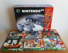 Nintendo 64 Games, Old Games, Game Room, Funko Pop, Consoles, Videogames, Gaming, Play, Things To Sell