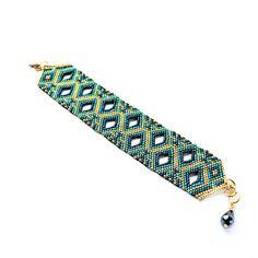 TUTORIAL SIKRI Bracelet lacy odd peyote instant download