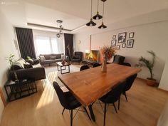 Bu Evde Modern Stil Natürel Detaylarla Sıcaklık Kazanm - Home decor interests Design Bleu, Home Accessories, Beautiful Homes, Living Room Decor, Sweet Home, Dining Table, House Design, Interior Design, House Styles
