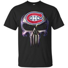 The Punisher T shirts Montréal Canadiens Hoodies Sweatshirts