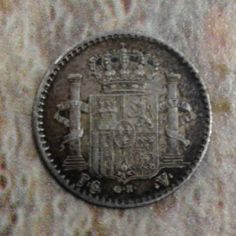 1896 Isla de Puerto Rico Silver 5 Cents 5 Centavos Low Mintage No Reserve   eBay