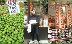 Diana stocking up arthur avenue Bronx