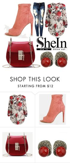"""Floral Sleeve-Blouse"" by whyfashionblog on Polyvore featuring moda"