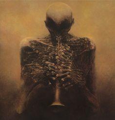 Zdislav Beksinski | Utopian Realism /Surreal architecture painter | Tutt'Art@ | Pittura * Scultura * Poesia * Musica |