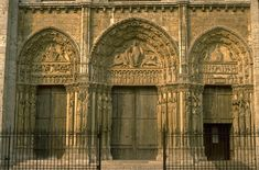Chartres Cathedral  West front, Royal Portals