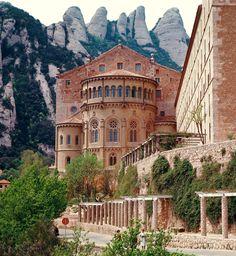 Monastery Of Montserrat Spain