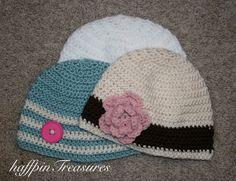 Crochet Hats...gonna keep my mom busy