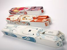 Einem Chocolate Packaging, designed by Julia Agisheva, United Kingdom.