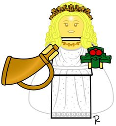 Past Holiday Ghost Lego Custom Minifigures, Lego Truck, Legos, Past, Disney Characters, Fictional Characters, Aurora Sleeping Beauty, Disney Princess, Toys