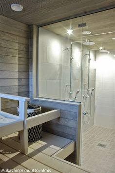 Spa Rooms, Saunas, Bathroom Essentials, Wooden House, Beautiful Bathrooms, Beach House, House Plans, Sweet Home, New Homes
