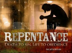Repent, turn away from sin/breaking His Commandments and obey.
