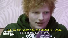 21 Cute Facts You Really Ought To Know About Ed Sheeran - @Georgia Ann Kapusta I love him so much I'm crying