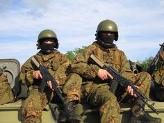 Russian military. Ministry of Interior soldiers. (MVD)
