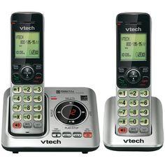 Vtech Dect 6.0 Expandable Speakerphone With Caller Id (2-handset System) VTEVTCS66292