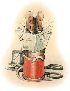Beatrix Potter, from The Tailor of Gloucester