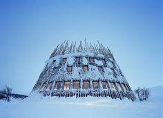 Tusen Ramundberget restaurant by Murman Arkitekter