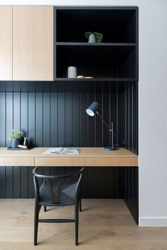 Home Office Layouts, Home Office Setup, Home Office Space, Office Interior Design, Office Interiors, Wall Wardrobe Design, Modern Home Offices, Home Office Cabinets, Home Room Design
