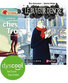 collection de livres pour dys sur tablettes