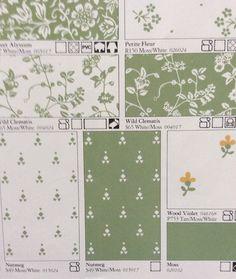 Laura Ashley 1983 Home Decoration book-----mmm, my greens!