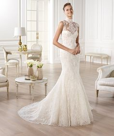 Pronovias te presenta el vestido de novia Yedira. Atelier Pronovias 2014. | Pronovias