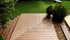 deck 2 Dena, Stairs, Outdoor Decor, Balcony, Timber Deck, Flower Arrangements, Floral Arrangements, Play Areas, Landscaping