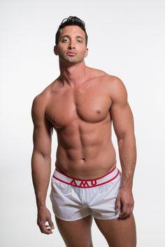 AlphaMaleUndies  - AMU LIGHTWEIGHT NYLON SHORTS - REVEALING WHITE, €40.00 (http://www.alphamaleundies.com/amu-lightweight-nylon-shorts-revealing-white/)
