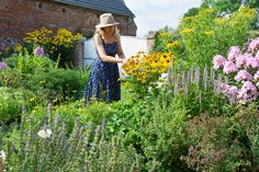 Katrins' flower garden.