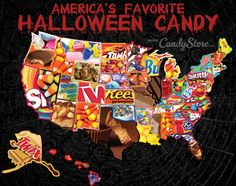 find out the most popular halloween candy in your statethe results might surprise you